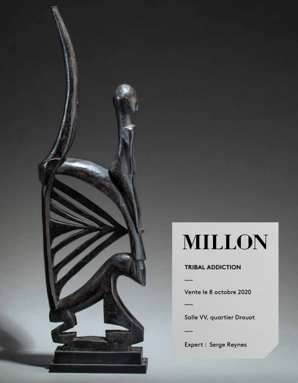 Vente Tribal Addiction chez Millon et Associés Paris : 287 lots