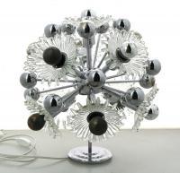 Verre Lampe À ChroméCorolles Métal Style Spoutnik Poser En lFT1JKc