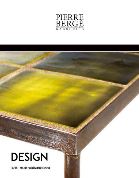 Vente Design chez Pierre Bergé & Associés Paris : 29 lots