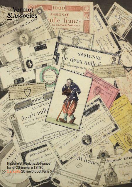 Vente Histoire et Régions de France chez Vermot et Associés : 579 lots