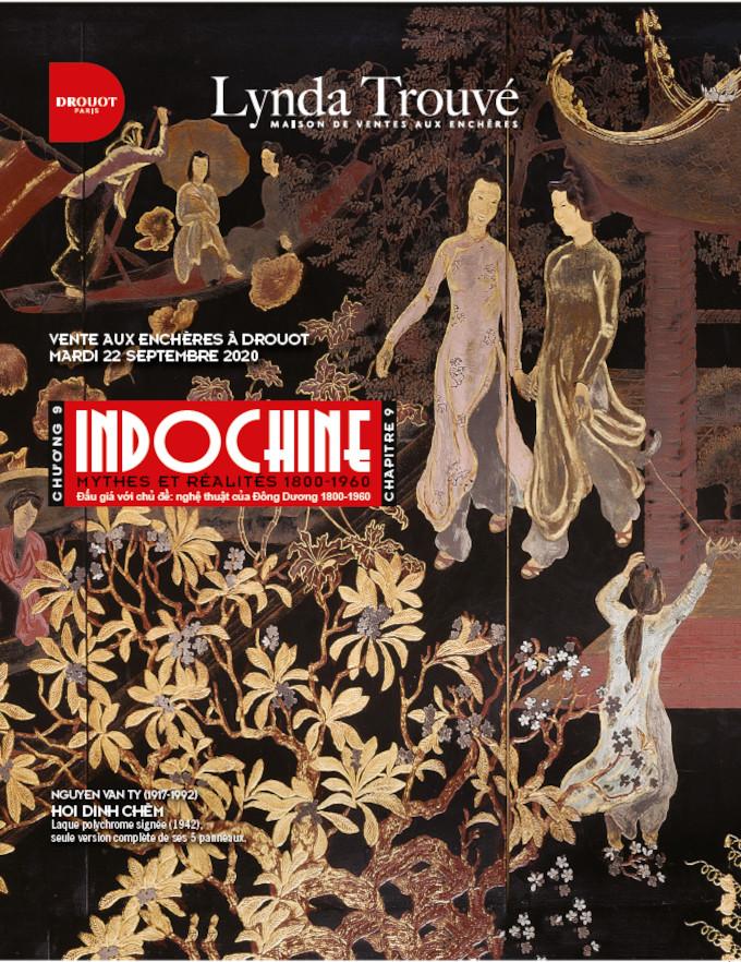 Vente Indochine - Chapitre 9 : Mythes et réalité (1800-1960) chez Lynda Trouvé OVV : 363 lots