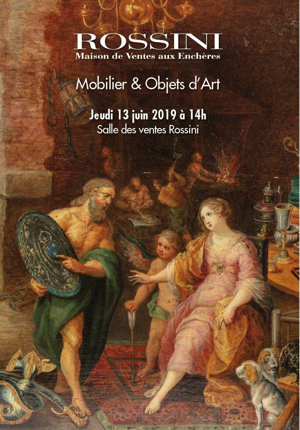 Vente Mobilier, Objets d'Art chez Rossini : 275 lots