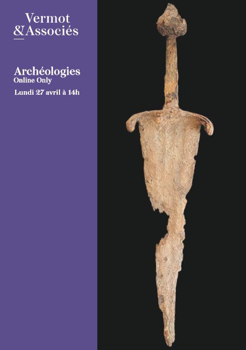 Vente Préhistoire, Archéologies Méditerranéennes, Asie, Curiosités, Documentation chez Vermot et Associés : 356 lots