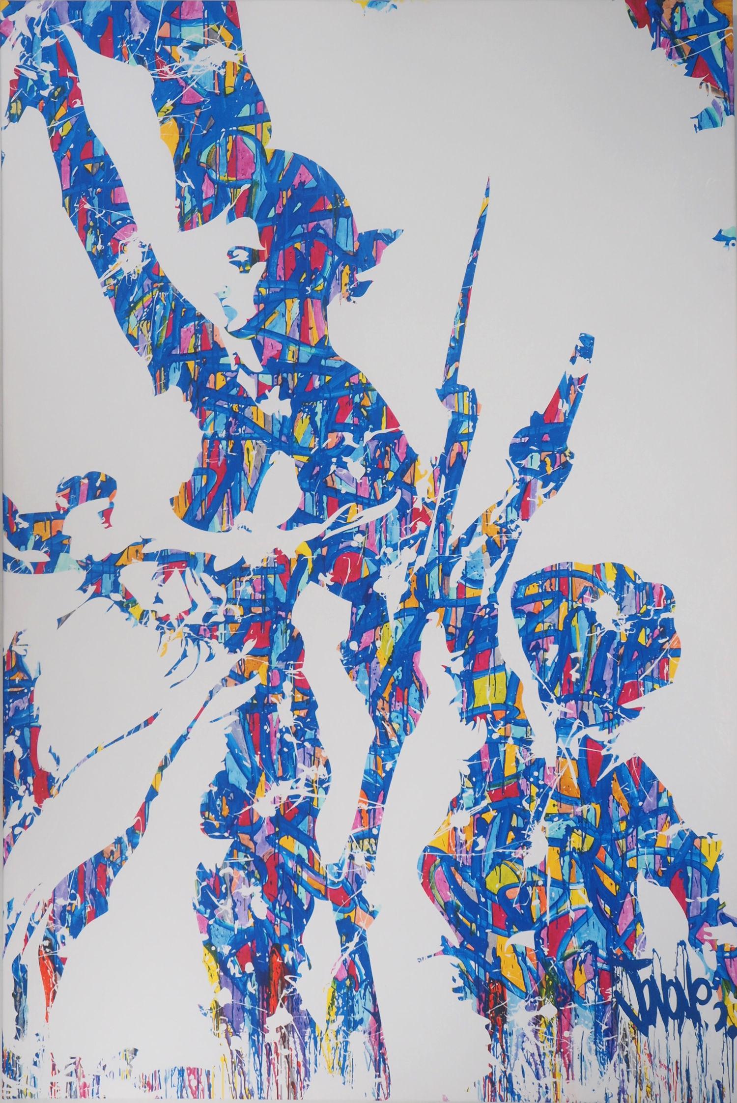 Vente Combas, Haring, Erró, Miss-Tic, Banksy, Koons : Street Art & Contemporain  chez Sadde - Dijon : 295 lots