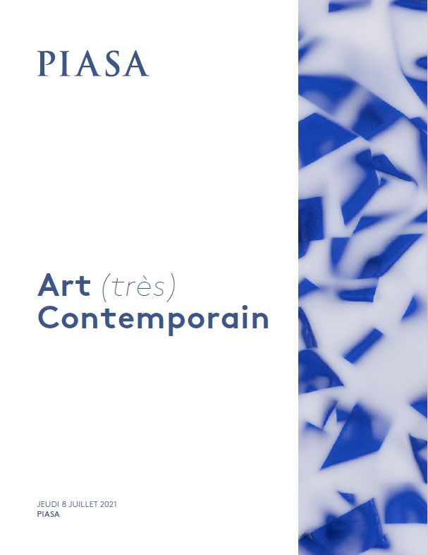 Vente Art (très) Contemporain  chez Piasa : 108 lots