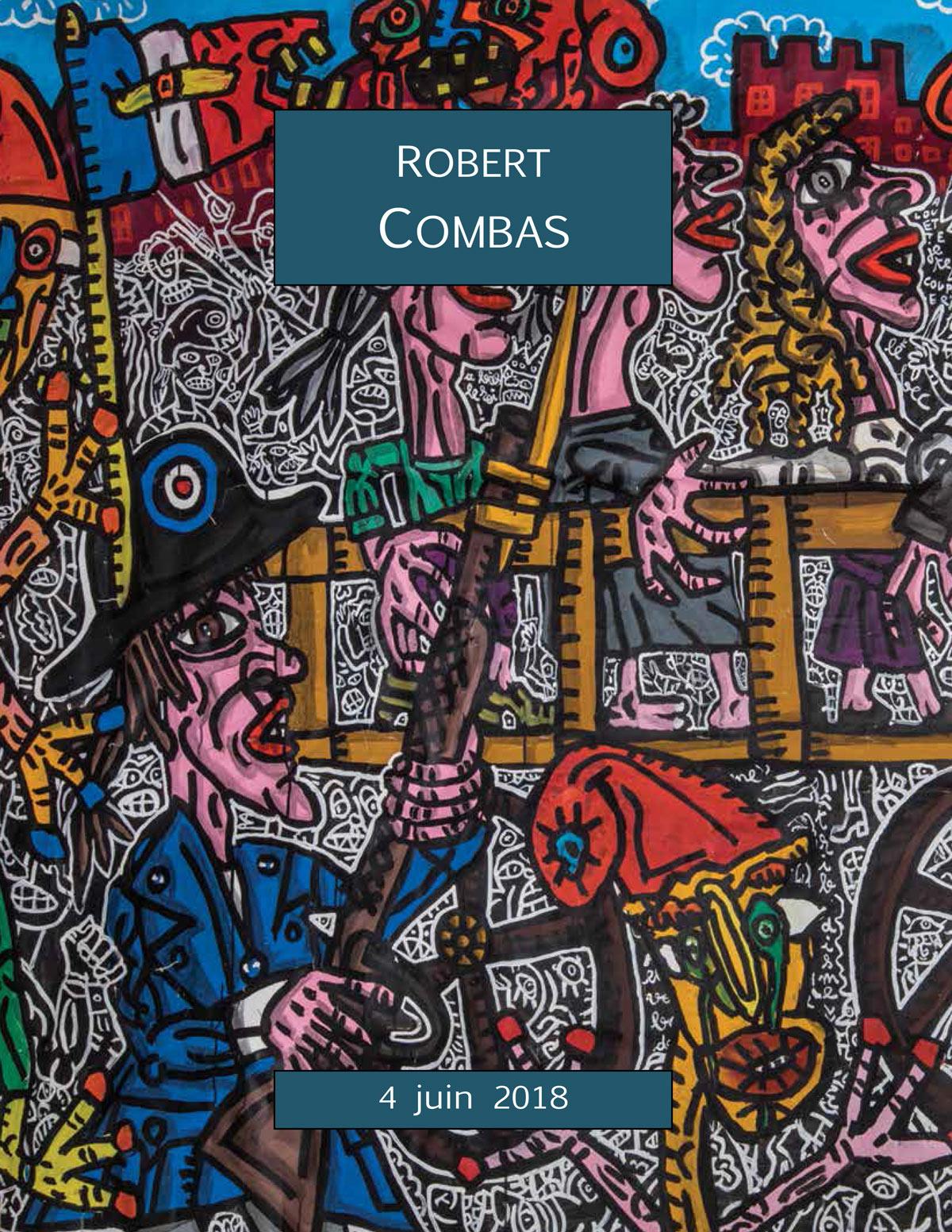 Vente Robert Combas Un ensemble de 6 œuvres chez ARCANE ENCHERES : 6 lots