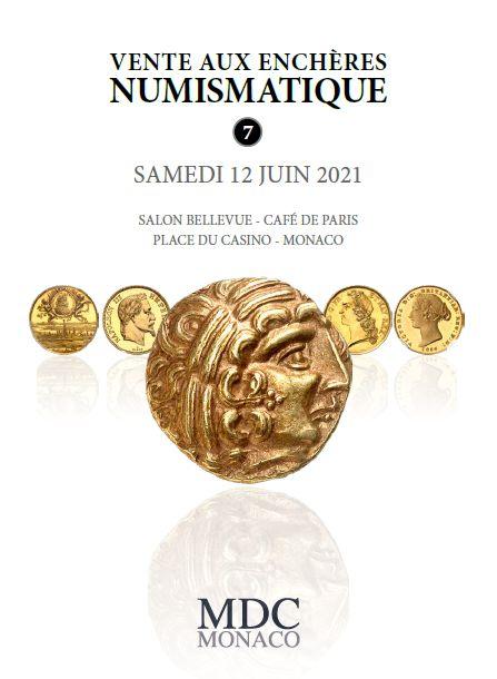 Vente Numismatique n°7 chez MDC Monnaies de Collection : 827 lots