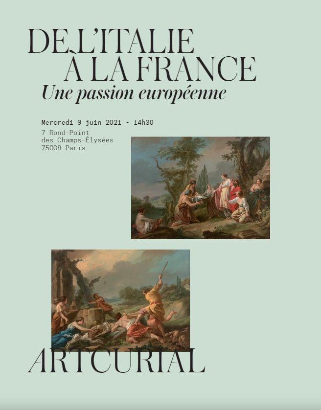 Vente De l'Italie à la France, une Passion Européenne chez Artcurial : 25 lots
