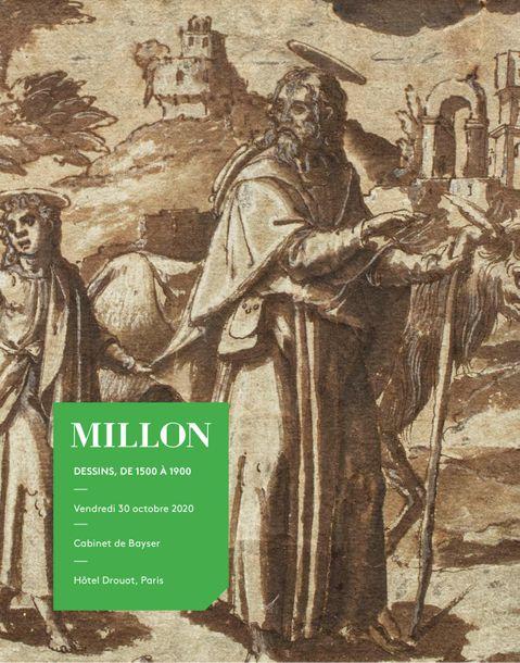 Auction Dessins de 1500 à 1900 at Millon et Associés Paris : 154 lots