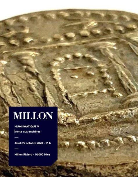 Vente Numismatique V  (Nice) chez Millon et Associés Paris : 230 lots