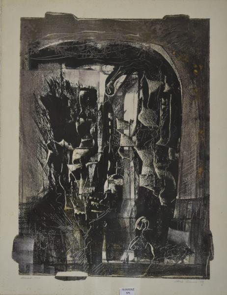 Christine Ranes 1929 2002 Warsaw 1944 Lithographie Originale Signee Et Datee 78 Lot 671 Mobilier Objets D Art Chez De Baecque Associes Auction Fr