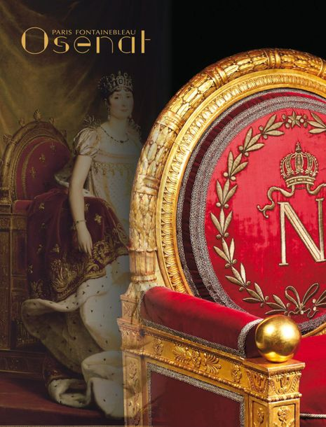 Vente L'Empire à Fontainebleau : Souvenirs Historiques chez Osenat : 431 lots