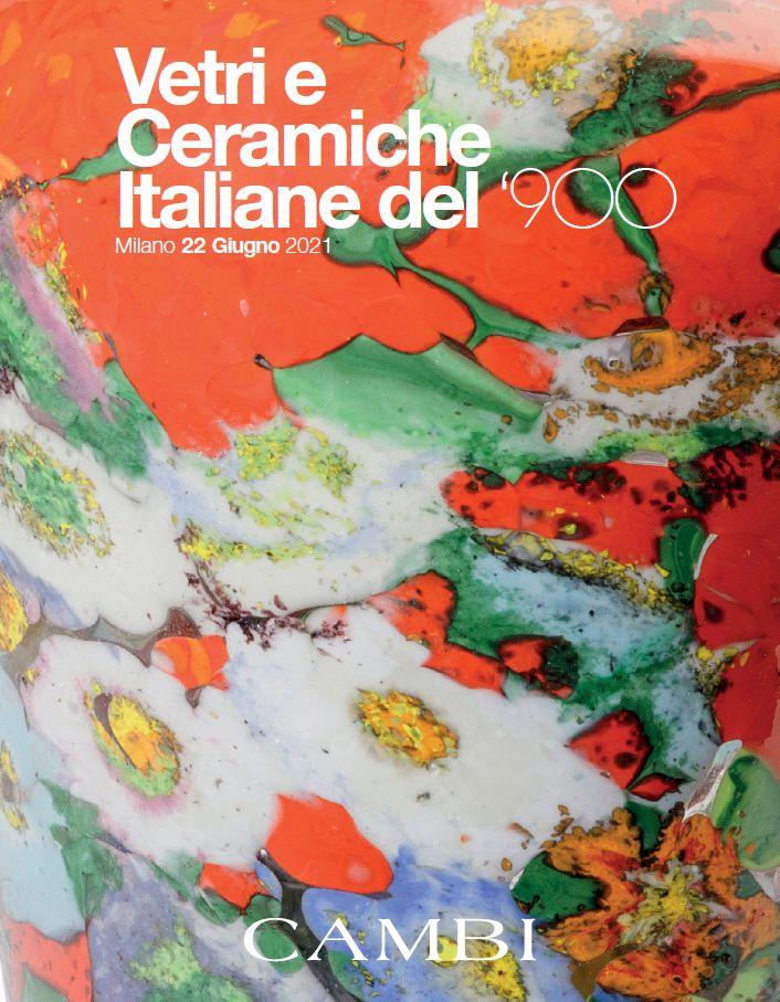 Vente Verrerie et Céramiques Italiennes du XXème siècle (Milano)  chez Cambi Casa d'Aste : 263 lots