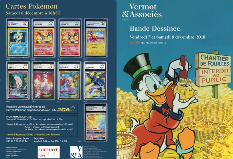 Vente Planches Originales et Originaux de Bande Dessinée chez Vermot et Associés : 373 lots
