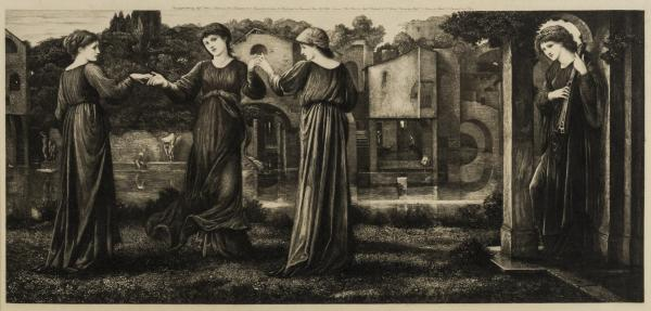Sir Edward Burne-Jones (1833-1898) (after) The Mill (Hartnoll 14)