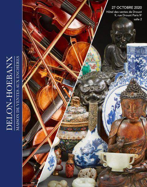 Vente Instruments de Musique, Arts d'Asie chez Delon-Hoebanx : 325 lots