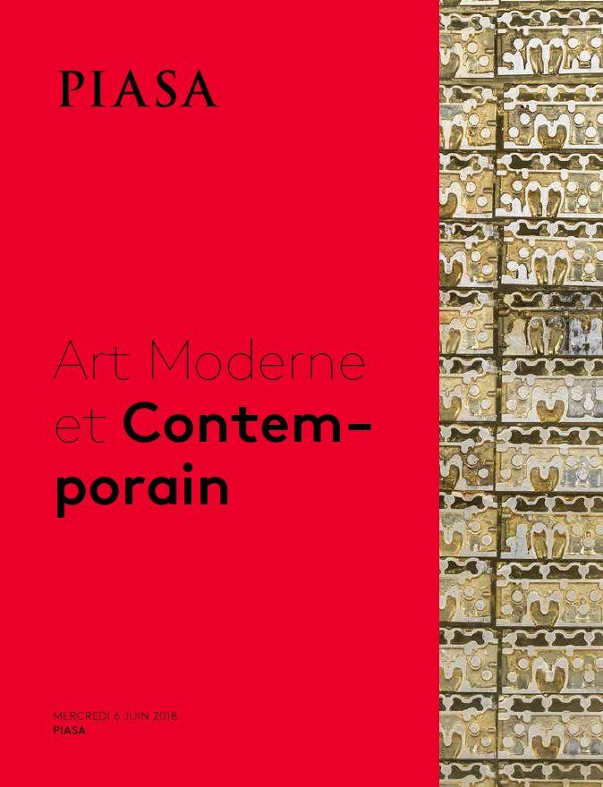 Vente Art Moderne et Contemporain chez Piasa : 134 lots