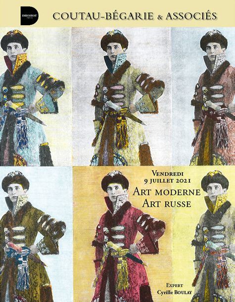 Vente Art Moderne - Art Russe chez Coutau-Begarie : 462 lots