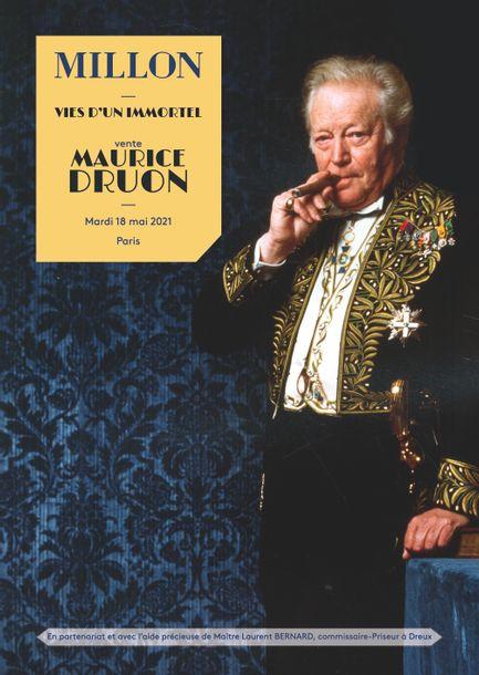 Auction Maurice Druon - Vies d'un Immortel at Millon et Associés Paris : 272 lots