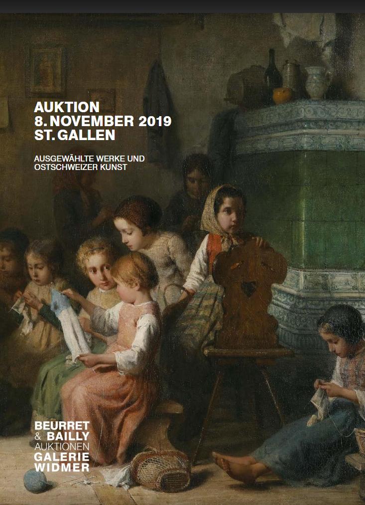 Vente Œuvres choisies et Art de la Suisse Orientale chez Beurret Bailly Widmer Auktionen AG : 247 lots