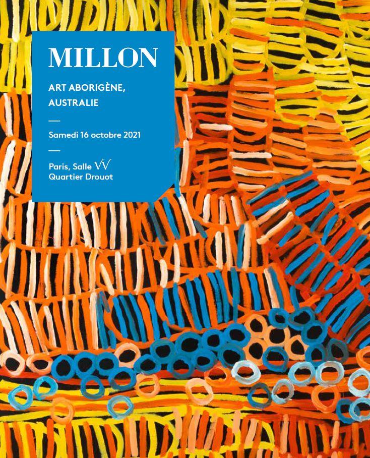 Vente Art Aborigène, Australie chez Millon et Associés Paris : 185 lots