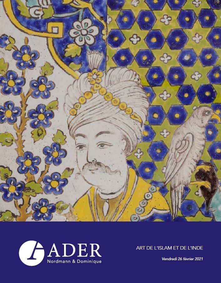 Vente Arts de l'Islam et de l'Inde chez Ader : 261 lots