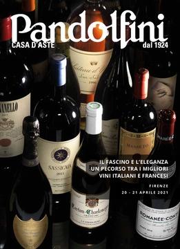 Auction Il Fascino e l'Eleganza - Un Voyage à travers les Meilleurs Vins Italiens et Français (Firenze) at Pandolfini Casa d'Aste : 297 lots