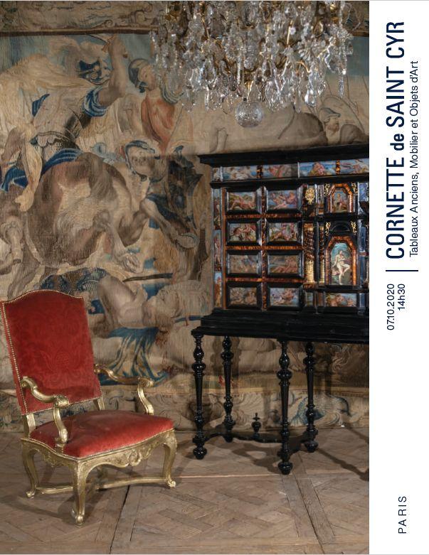 Vente Tableaux Anciens, Mobilier et Objets d'Art chez Cornette de Saint Cyr Paris : 312 lots