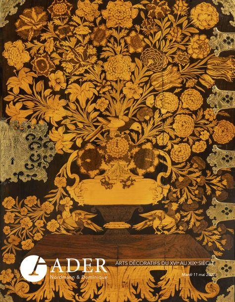 Vente Arts Décoratifs du XVIème au XIXème siècle chez Ader : 294 lots