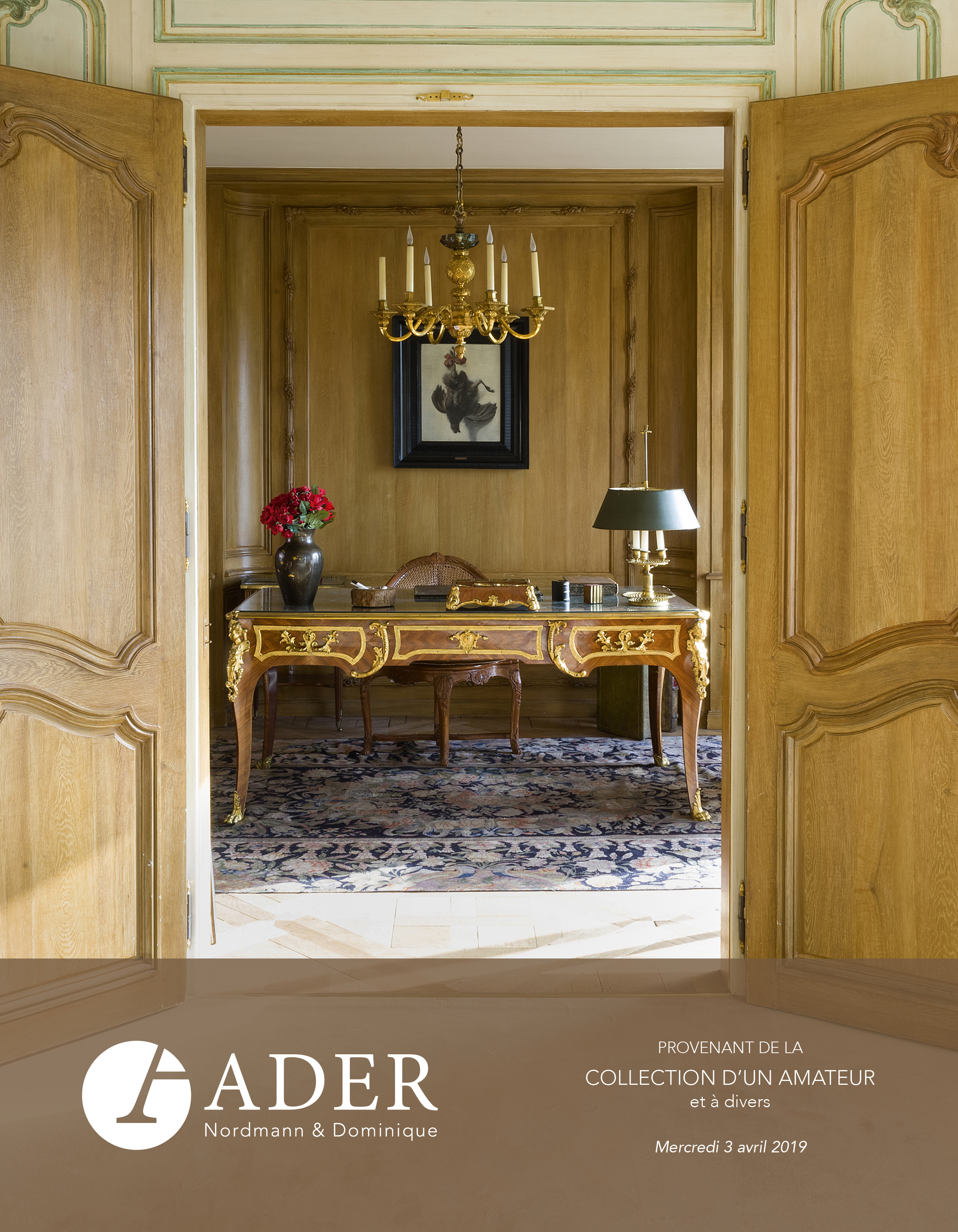 Vente Tableaux Anciens, Mobilier et Objets d'Art - Collection d'un Amateur chez Ader : 187 lots