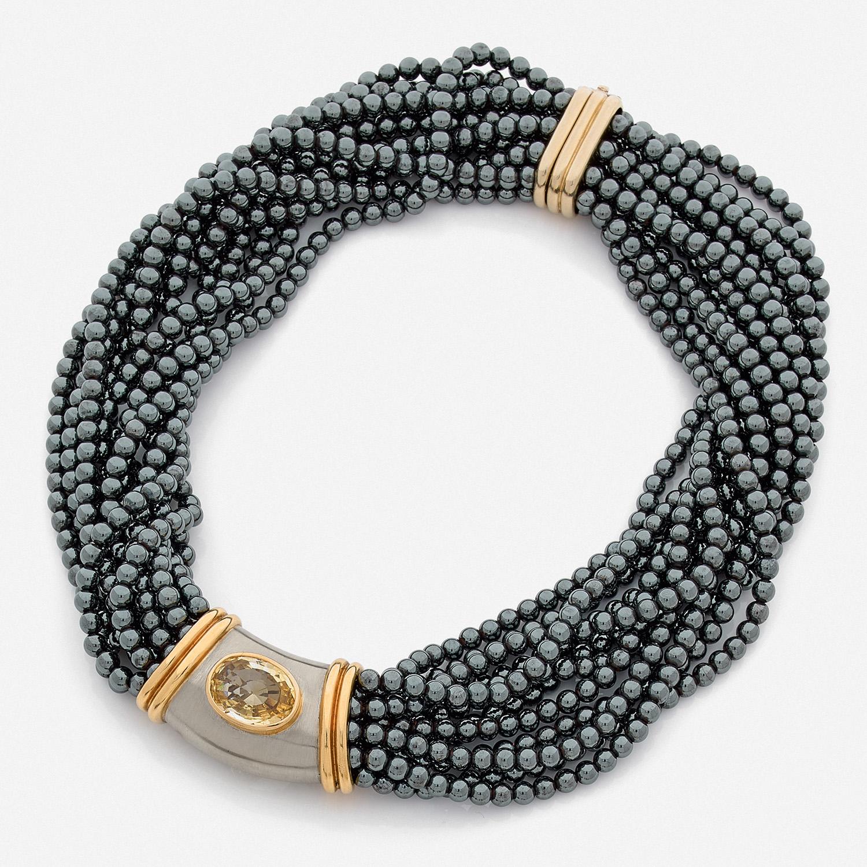 collier perle poiray