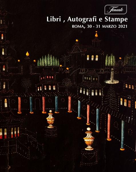 Vente Livres, Autographes & Estampes / Part II (Roma) chez Finarte Auctions S.r.l. : 222 lots