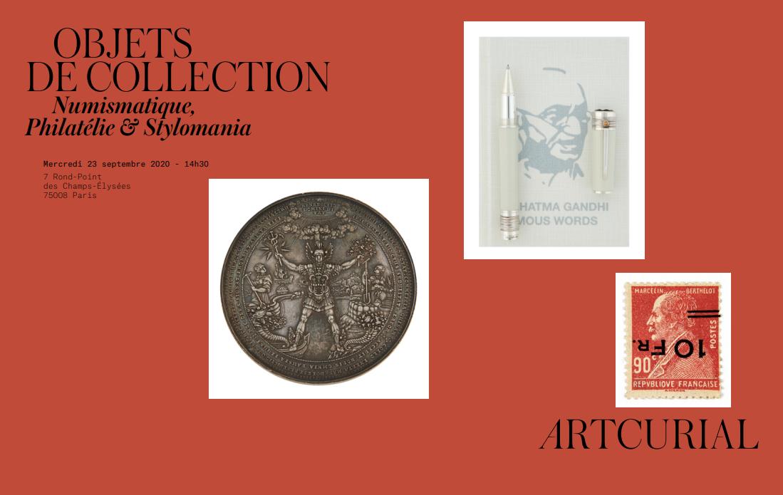 Vente Objets de collection chez Artcurial : 225 lots