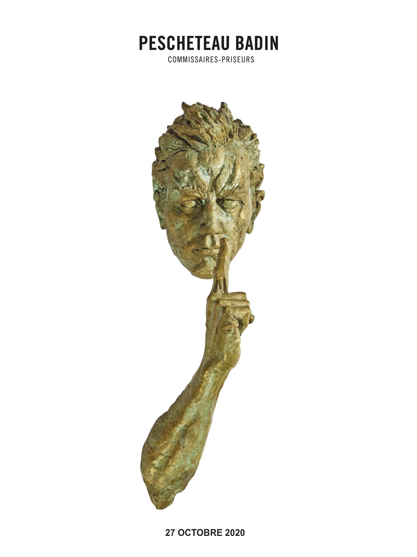Vente Sculptures, Verreries, Luminaires Contemporains, Art Contemporain - Collection Jean-Pierre Petit chez Pescheteau-Badin : 352 lots