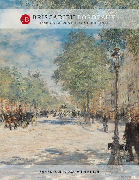 Vente Tableaux, Mobilier, Objets d'Art du XVIIème au XXème siècle chez Briscadieu Bordeaux : 331 lots