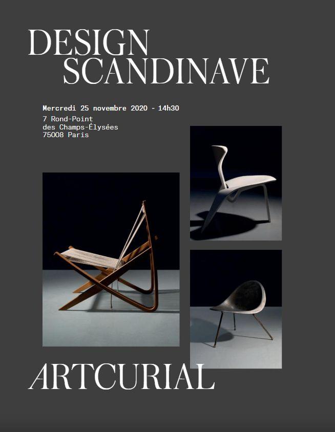 Vente Design Scandinave chez Artcurial : 134 lots