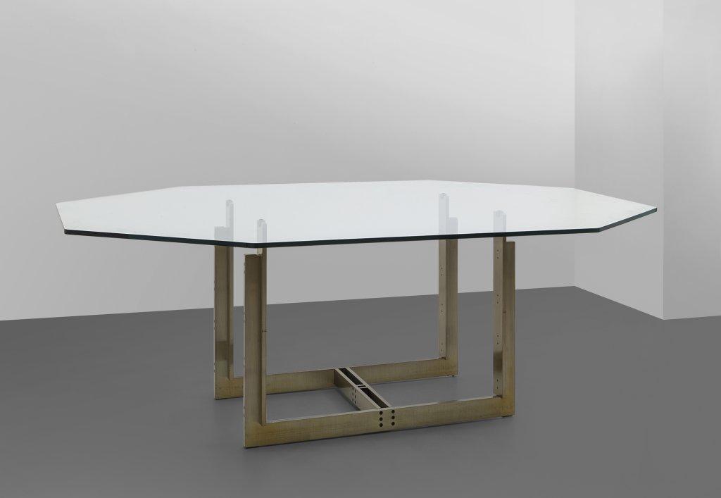 """CARLO SCARPA - Un tavolo """"Sarpi"""", versione ottagonale, per SIMON ..."""