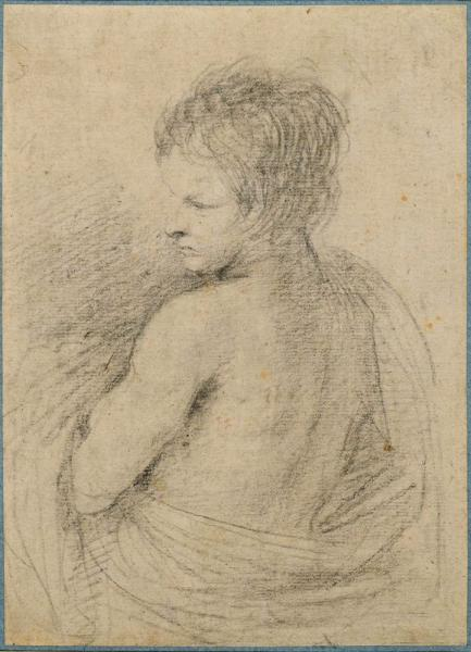 BENEDTTO GENNARI (ATTRIBUTED)  - (Cento 1633 - 1715 Bologna)  - Study of a boy, in [...]
