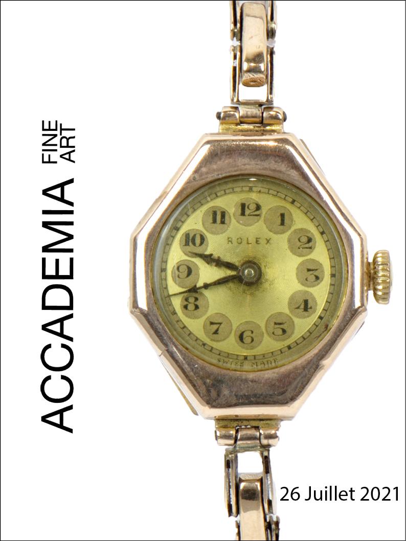 Vente Montres Vintage chez Accademia Fine Art : 170 lots