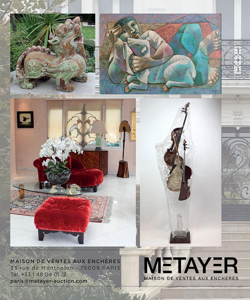 Vente Contenu d'un Hôtel Particulier, dont ensemble Jean-Claude Mahey et à divers chez Metayer Maison de Ventes aux Enchères Paris : 229 lots