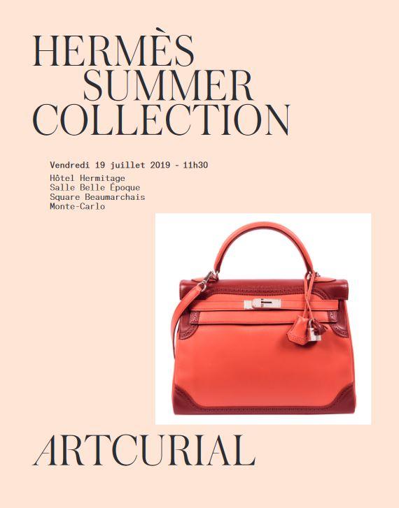 Vente Hermès  Summer Collection (Monaco) chez Artcurial : 87 lots