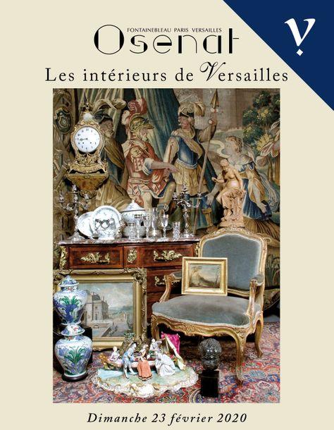 Vente Les Intérieurs de Versailles (Versailles) chez Osenat : 366 lots