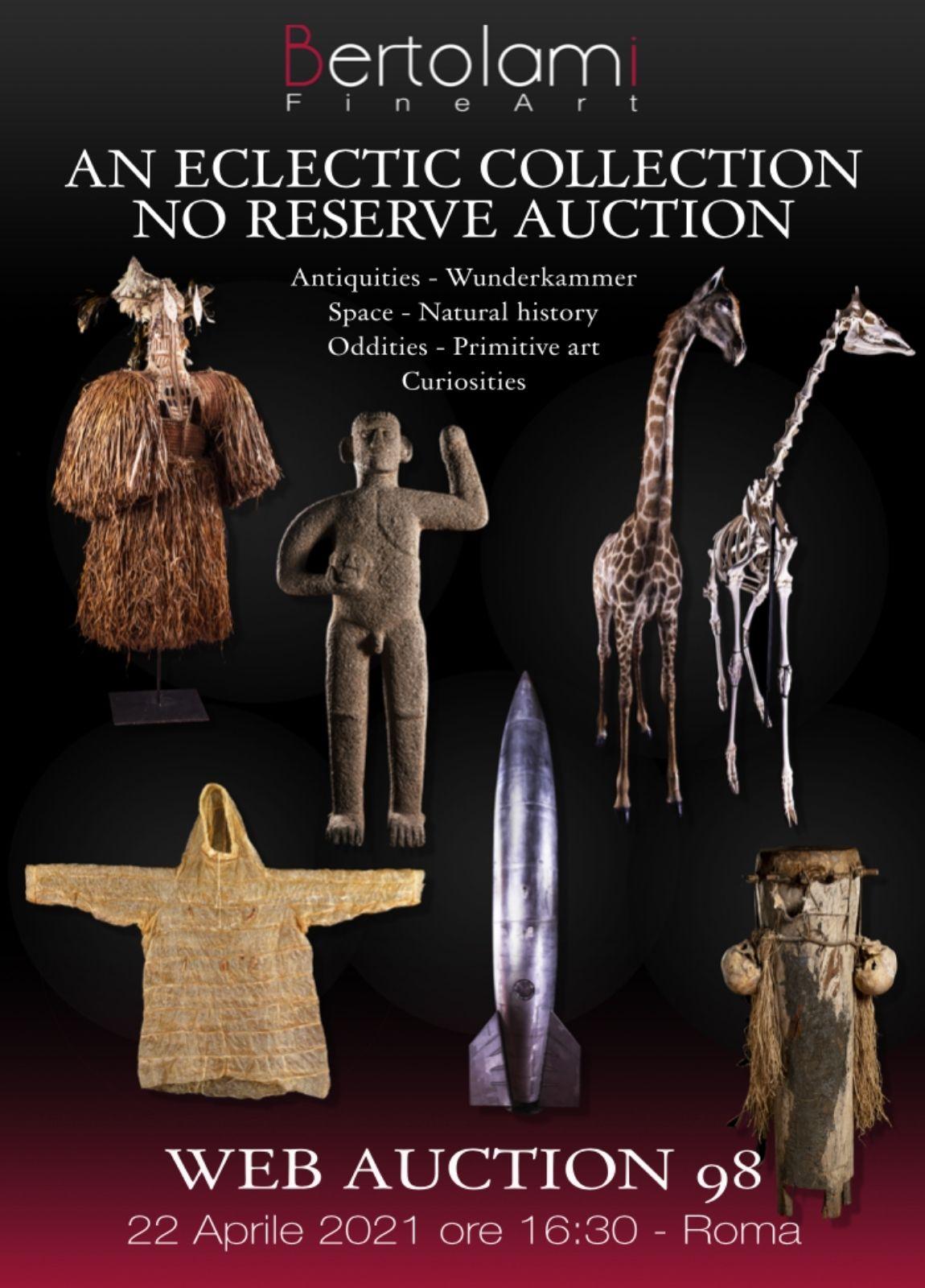 Auction Une collection éclectique: bizarreries, curiosités et merveilles (Web Auction 98) at Bertolami Fine Arts : 197 lots
