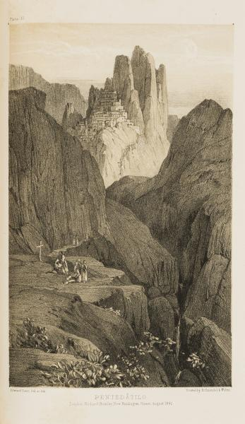 Italy.- Lear (Edward) Journals of a Landscape Painter in Southern Calabria, 2 parts [...]
