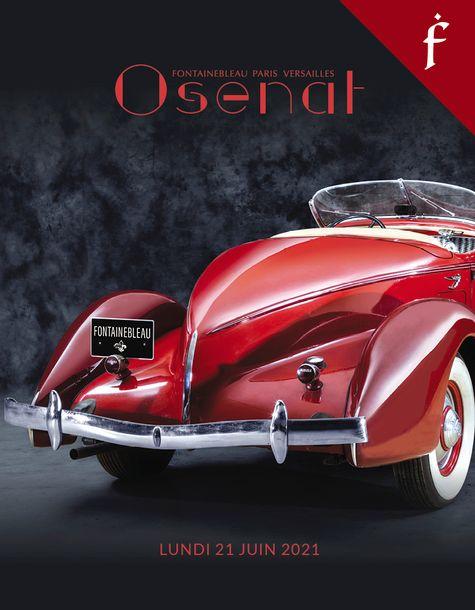 Vente Automobiles de Collection (Fontainebleau) chez Osenat : 73 lots