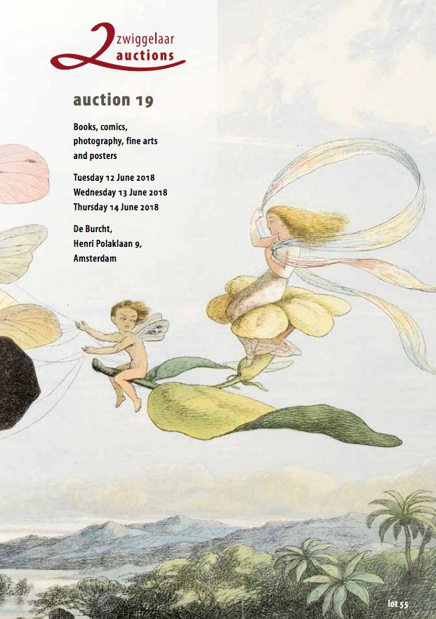 Vente Vente 19 : Livres, BD, Photographie, Beaux-Arts et Affiches - Partie 2 chez Zwiggelaar Auctions : 548 lots