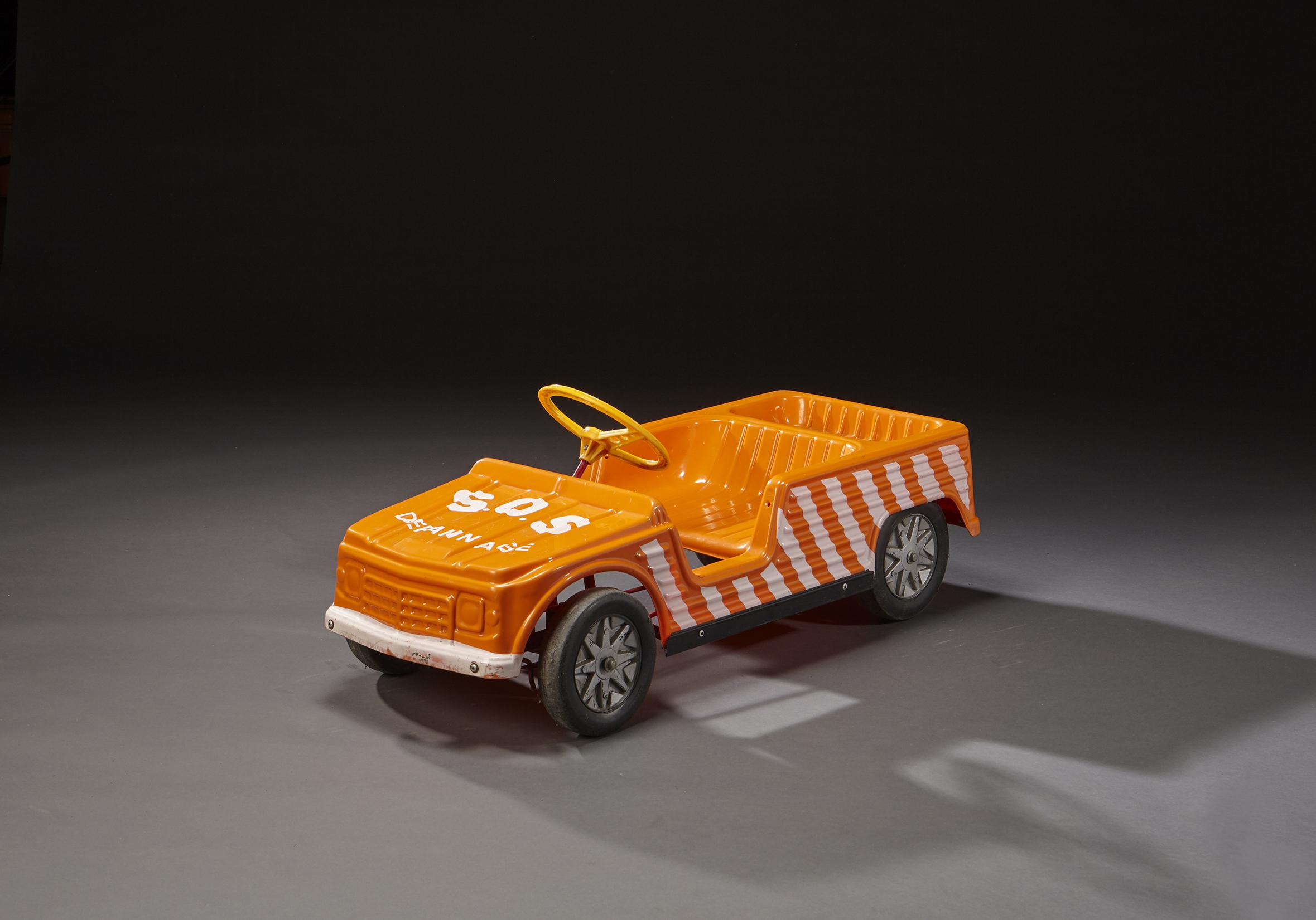 Mehari Pédales En Plastique Excellent Citroën À Voiture État Orange TFKJl13c