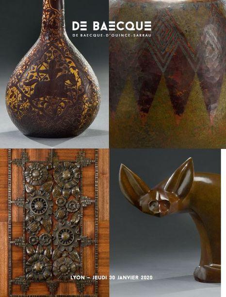 Vente Art Nouveau - Art Déco chez De Baecque & Associés : 259 lots