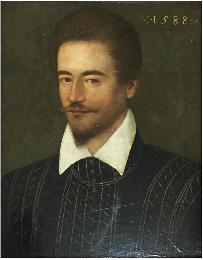 Ecole Francaise 16eme Siecle Portrait D Homme En Buste Panneau Date 1588 Lot 103 Belle Vente Cataloguee Chez May Associes Auction Fr