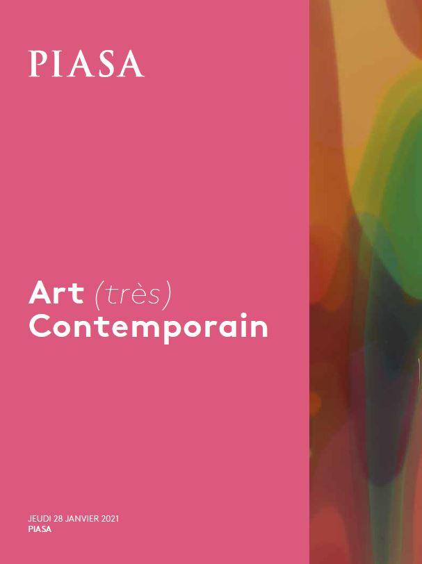 Vente Art (très) Contemporain  chez Piasa : 77 lots